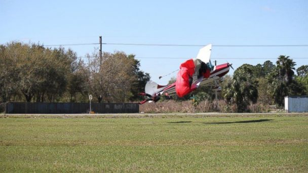 Cessna Collides with Skydiver
