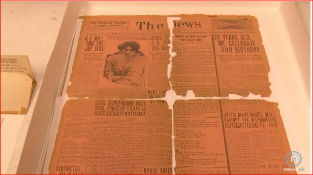 Vintage OKC Newspaper