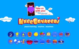 Screenshot of KneeBouncers.com