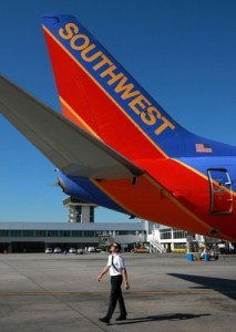 Saying good-bye, thanks to Southwest Airlines!