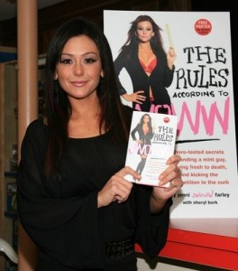 "Jenni ""JWoww"" Farley Signs Copies Of ""The Rules According To JWoww"""