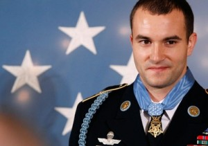 Army Staff Sgt. Giunta is awarded the Medal Of Honor!