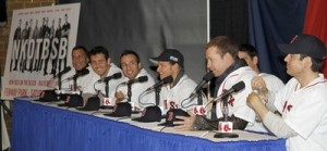 New Kids On The Block & Backstreet Boys Press Conference
