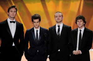 The Social Network wins at the Writers Guild of America awards on Saturday!