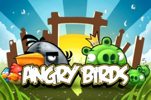 Angry Birds (Screenshot from my iPhone)