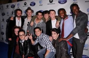"""American Idol"" 10th Season Top 24"