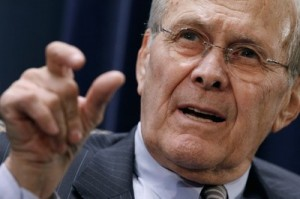 Donald Rumsfeld discusses his new memoir in Grand Rapids today!