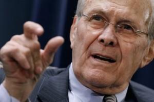 Donald Rumsfeld discusses his new memoir in Grand Rapids today!