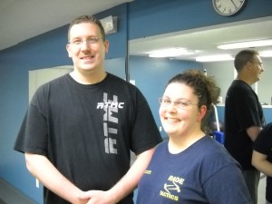 Joe &amp; Angel Walker teach defense classes at Rade Tactics in Jenison