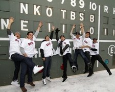 New Kids On The Block & Backstreet Boys record a new single!