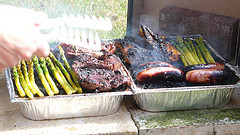 Get out the grill for a good 'ole American bar-b-que for Memorial Day Weekend!