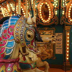 Enjoy a free carousel ride at the Grand Rapids Public Museum today!