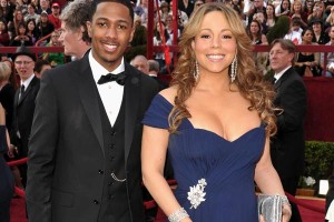 Mariah Carey has a boy and a girl over the weekend!