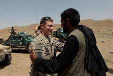 U.S. Army Paratroopers in Northwest Afghanistan get a thanks for their heroism!