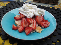 The annual Strawberry Shortcake Festival is downtown Grand Rapids today!