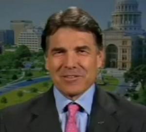 Texas Governor Rick Perry prays for America!