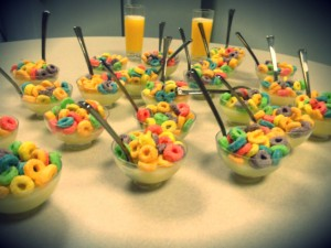 Froot Loops Jello Shots