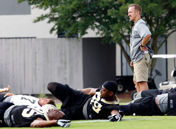 New Orleans Saints Practice
