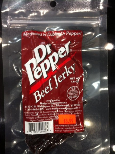 dr pepper beef jerky