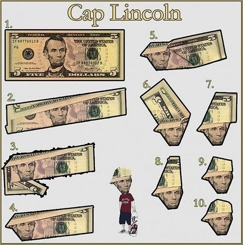 how to give abraham lincoln a hat