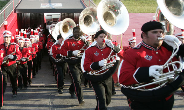 university of louisiana lafayette band