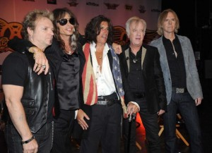 Aerosmith Celebrates The Launch Of &quot;Guitar Hero: Aerosmith&quot;
