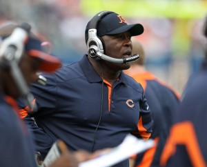 Bears Head Coach Lovie Smith