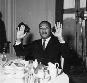 Luther King's Hands