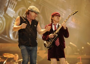 AC/DC &quot;Black Ice&quot; Tour Opener on October 28, 2008 in Wilkes-Barre, Pennsylvania.