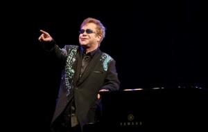 Sir Elton John and Ray Cooper Perform At The Royal Opera House