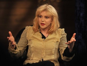 "Courtney Love and Hole Visit fuse's ""On the Record"""