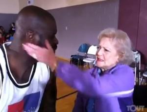 Betty White Slaps Shaq