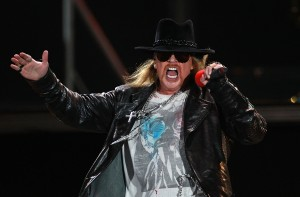 Guns N' Roses Perform In Sydney