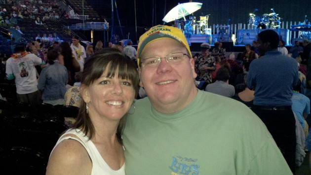 18th Row For Jimmy Buffett