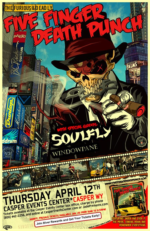 Five Finger Death Punch Pre-Sale
