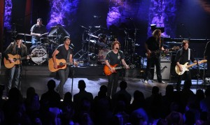 Taping of &quot;CMT Crossroads&quot; with The Doobie Brothers and Luke Bryan