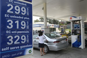 Price Of Gas Drops As Oil Prices Decrease On European Debt Worries