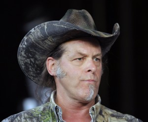 Ted Nugent Hosts Pre-show BBQ