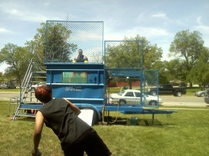 Thommy Getting Dunked