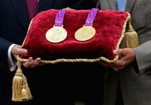 London 2012 Olympics Medals Handover Ceremony