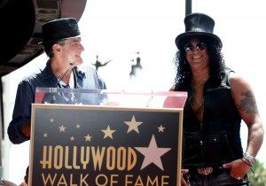 Slash honored with the 2,473rd Star on the Hollywood Walk of Fame