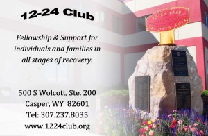 Sponsors:  Casper Community Meth Committee, Wyoming Behavioral Institute, Wyoming Recovery, Central Wyoming Counseling Center, Wyoming Meth Project and 12-24 Club.