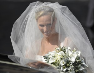 Zara Phillips Marries Mike Tindall In Edinburgh