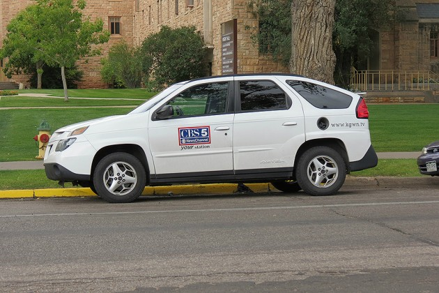 Cheyenne CBS 5 Vehicle Parked Illegally