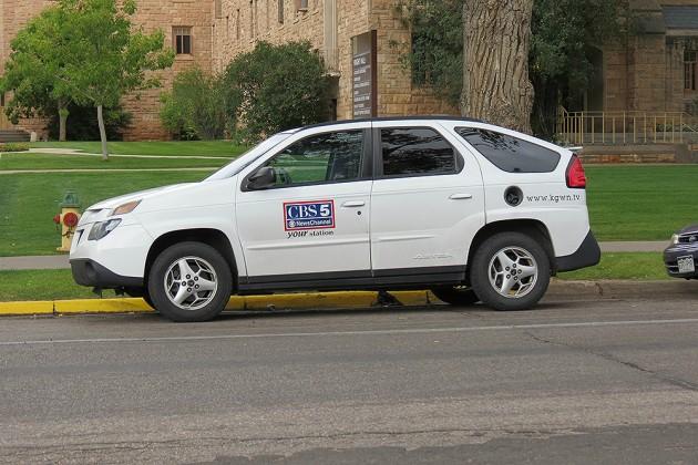 Cheyenne CBS 5 Vehicle Parked Illegally