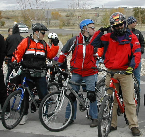 Special Olympics Wyoming Cyclists