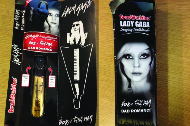 Lada Gaga Toothbrush