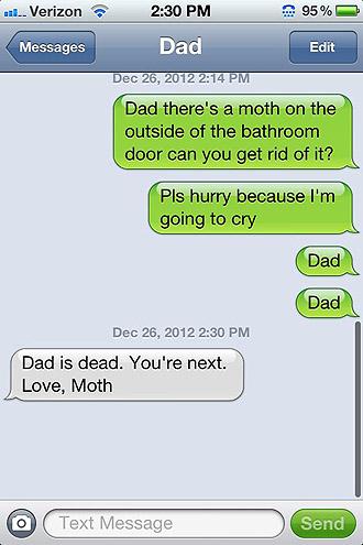 No Moth No!