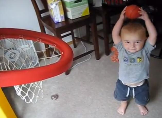 Titus Owns At  Basketball