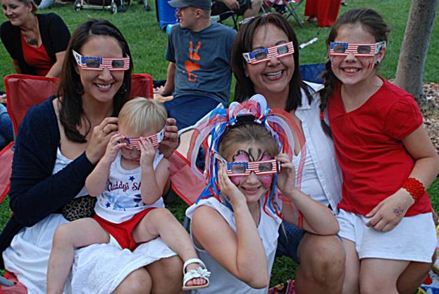 Fireworks Festival Glasses